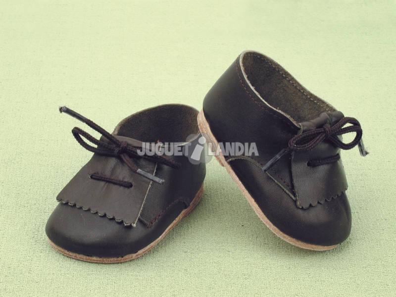 Zapato Fleco Piel Negro
