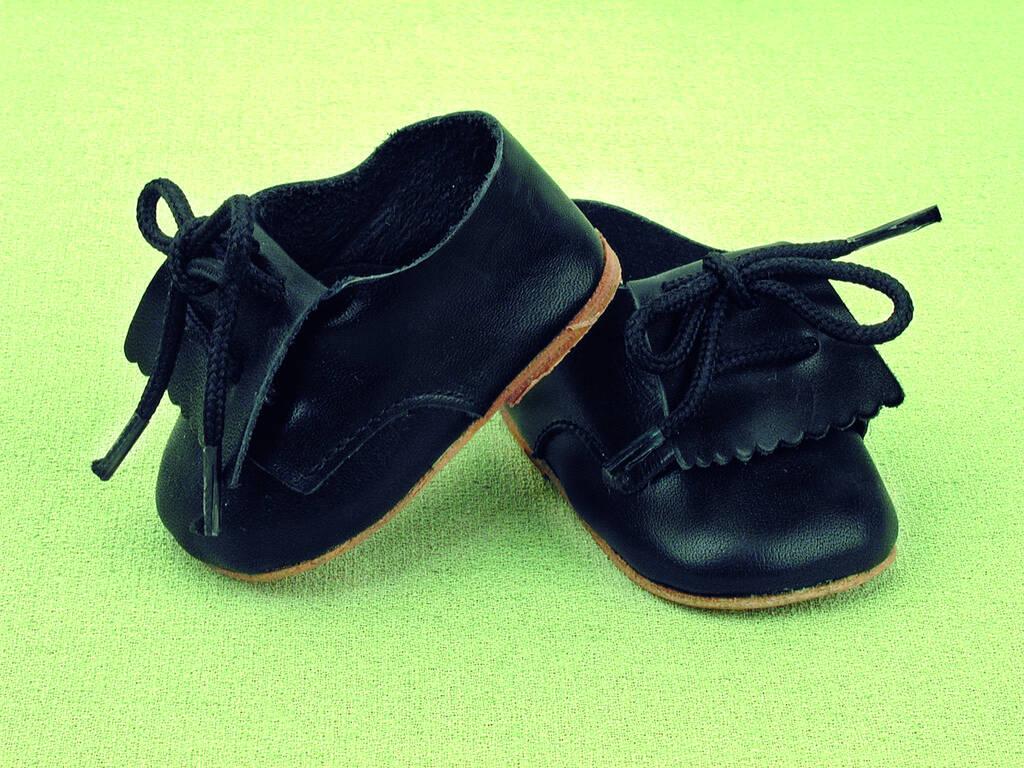 Zapato Fleco Piel Azul