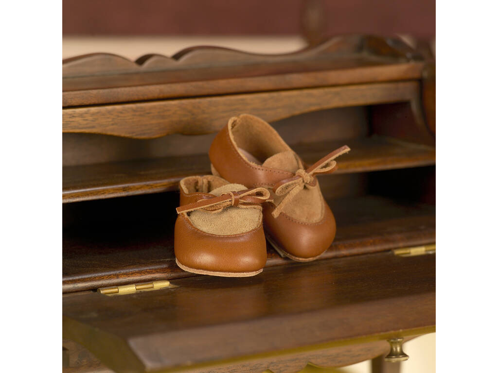 Zapato de Ante y Piel Marrón Mariquita Pérez JP30015