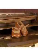 imagen Zapato de Ante y Piel Marrón