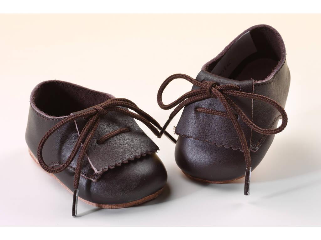 Zapato Fleco Piel Marrón