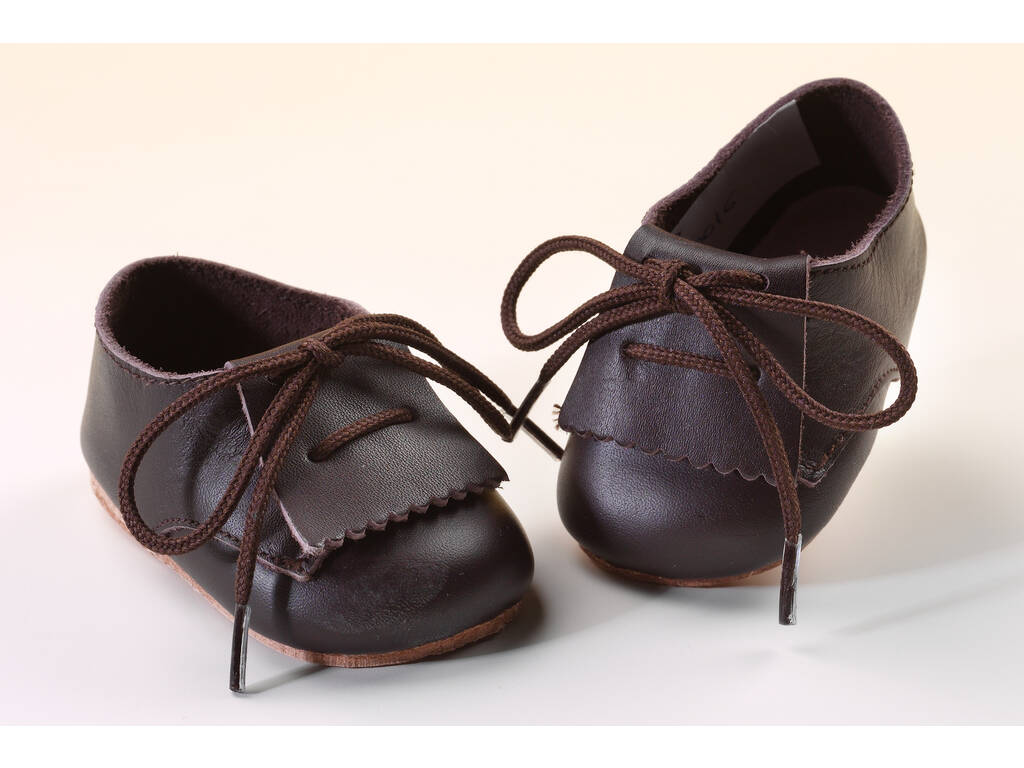 Zapato Fleco Piel Marrón Mariquita Pérez JP30016