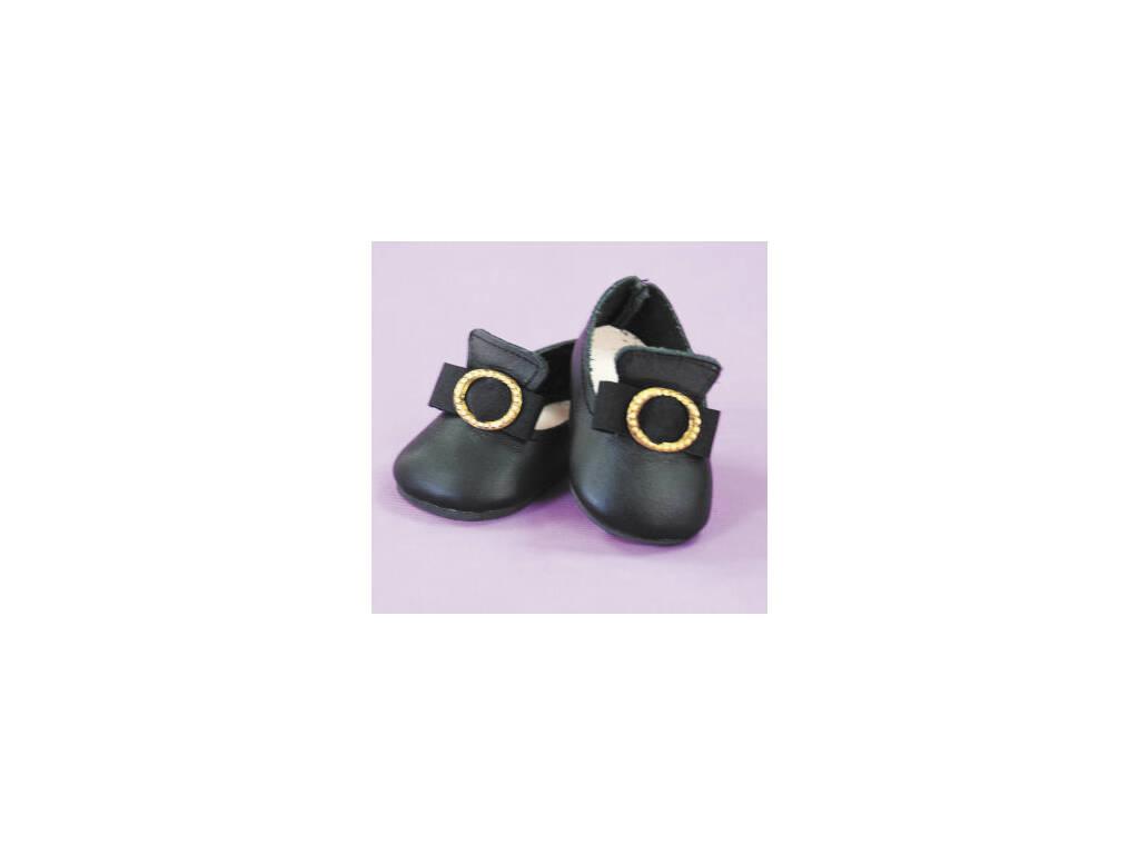 Sapato Preto con Fivela