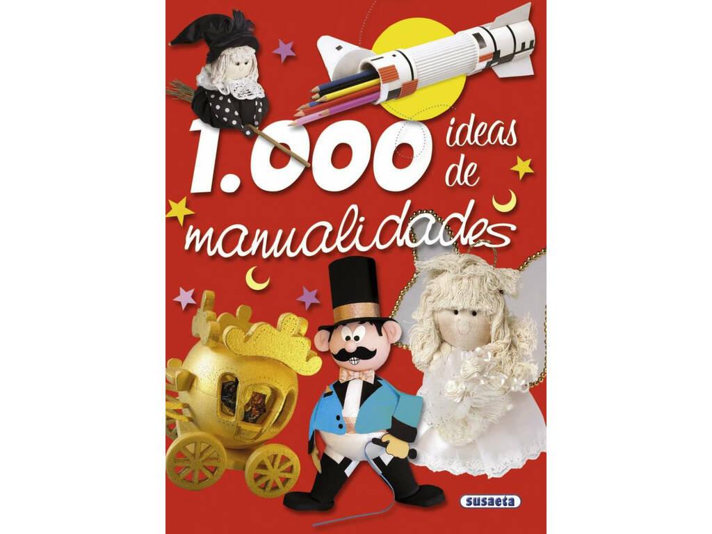 Libro 1.000 Ideas de Manualidades Susaeta S2422