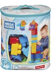 Sacca Ecologica Maxi Blocchi Blu 80 Pezzi Mattel DCH63