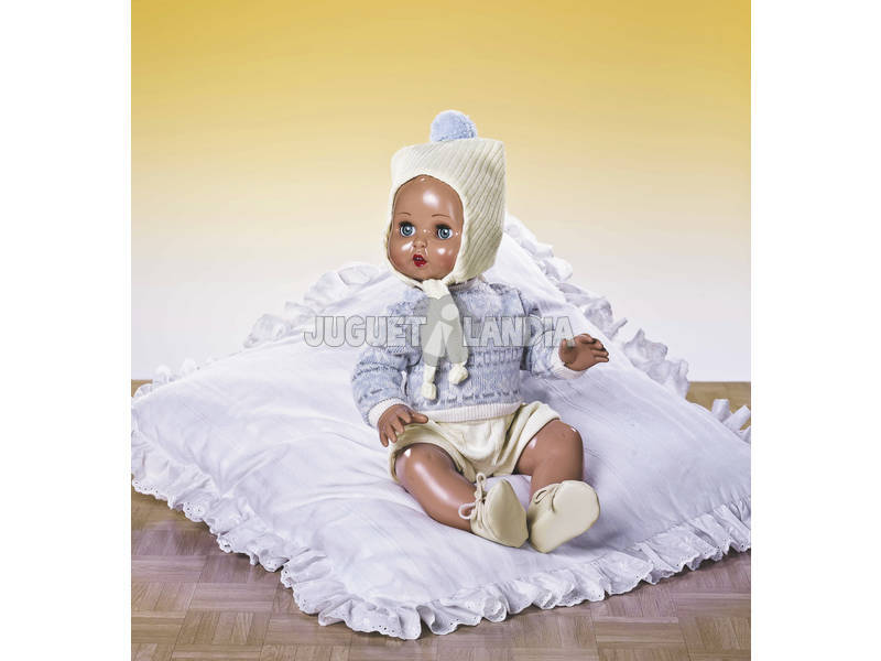 Juanin Pérez Bebé Conj Calças Jers e Gorro Lã