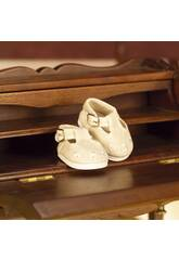Chaussures en toile beige