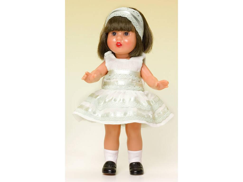 Mini Mariquita Pérez Vestido Bege Festa
