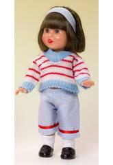 Mini Mariquita Perez Kleidung Pirata Jersey Streifen