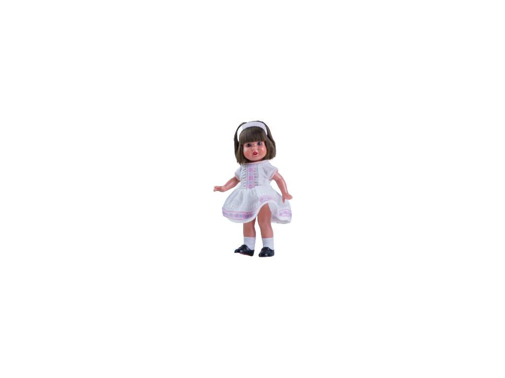 Mini Mariquita Pérez Vestido Branco Sanefas