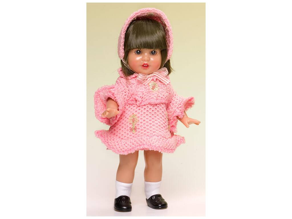 Mini Mariquita Pérez Vestido Punto Salmón