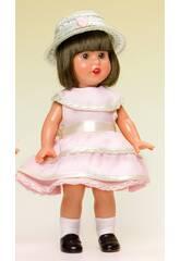 imagen Mini Mariquita Pérez Vestido Rosa con Sombrero