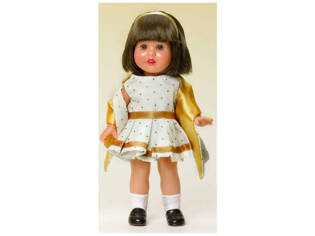 Mini Mariquita Pérez Vestido Festa com Xale