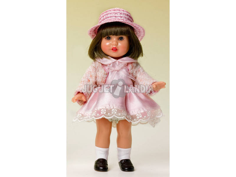 Mini Mariquita Pérez Vestido Shantu Rosa y Chaquet