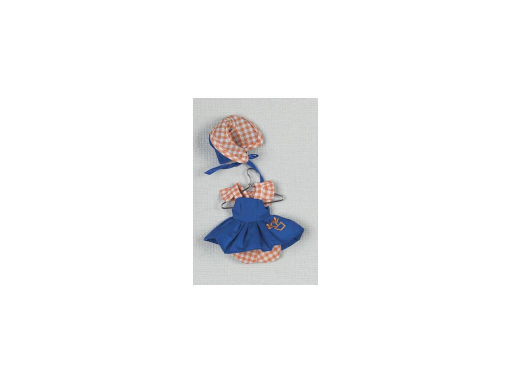 Mini Vestido Azul Capota