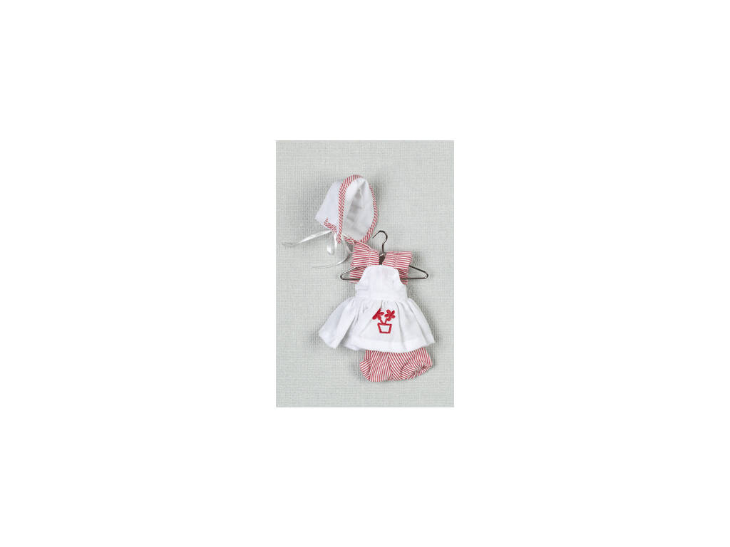 Mini Vestito Bianco Cuffia