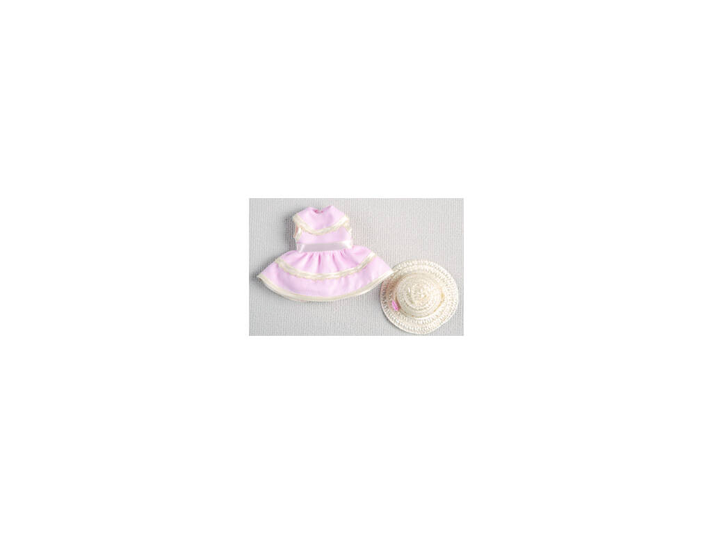 Mini Vestido Rosa con Sombrero