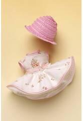 Mini Vestido Estampado Flores