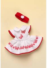 Mini Vestido Pique Blanco