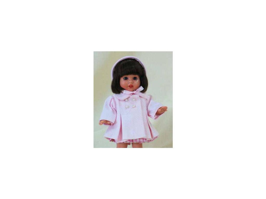 Mini Completo Cappottino Rosa Mariquita Perez MM20093