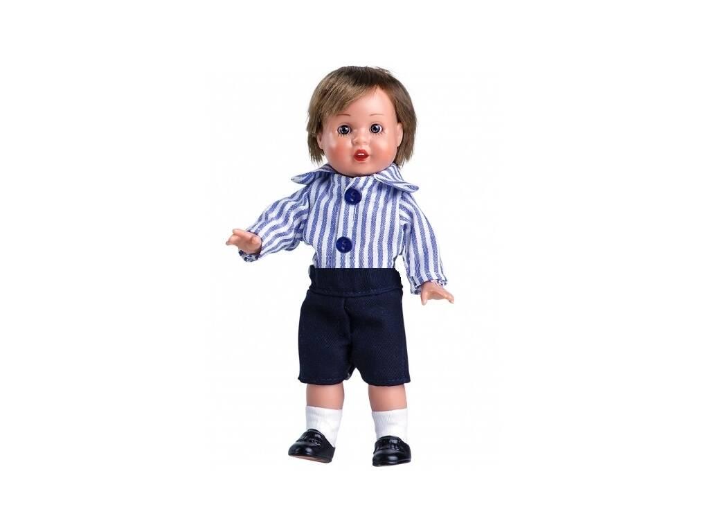 Mini Calças Marinho e Camisa Listrada