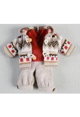 Mini Pantaloni Beige e Giacchetta lana