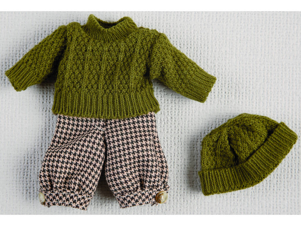 Mini Conjunto Jersey y Gorro Verde