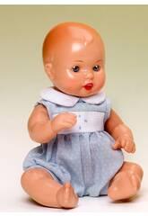 imagen Mini Juanin Bebé Conjunto Topos Celeste