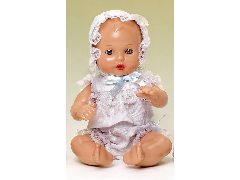 Mini Juanin Bebé Conjunto Bolillo Blanco