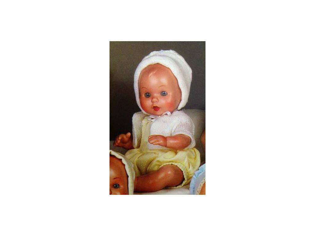 Mini Juanin Bebé Pelele Amarillo y Chaqueta Blanca Mariquita Pérez MJB05012