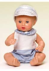 Mini Juanin Bébé Barboteuse Marin avec casquette
