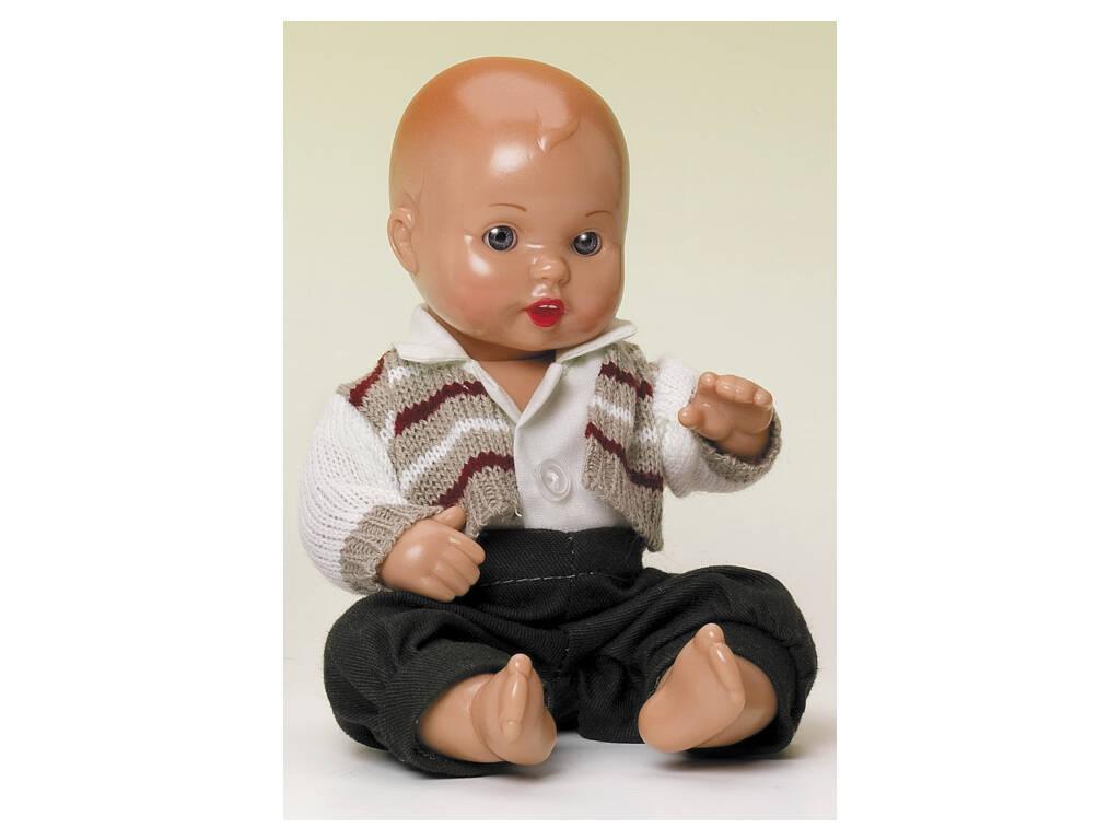 Mini Juanin Bebè Pantaloni Verdi e giacchetta a righe