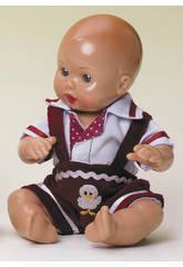 imagen Mini Juanin Bebé Peto Pana Granate