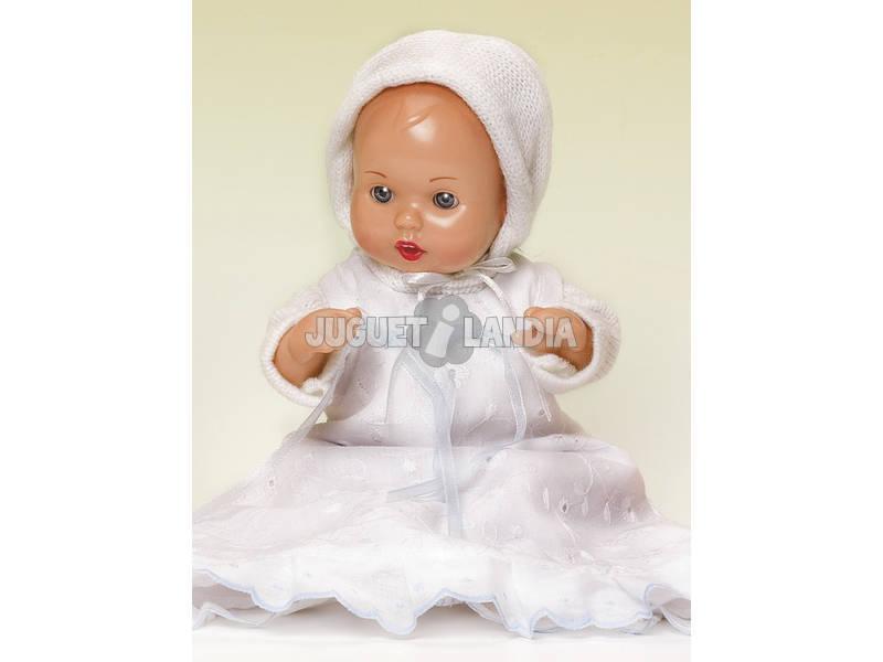 Mini Juanin Bebé Faldón Blanco