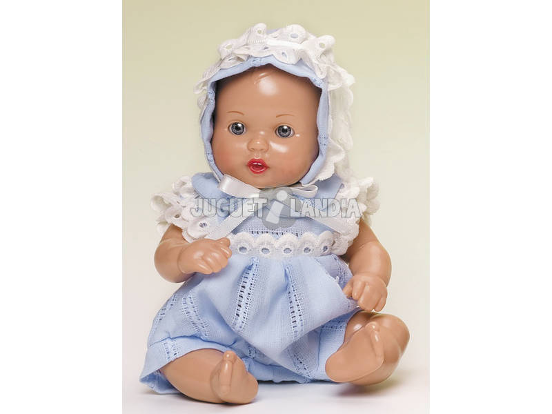 Mini Juanin Bebé Fatinho Capota Azul Celeste