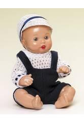 Mini Juanin Baby Trägerrock Blau