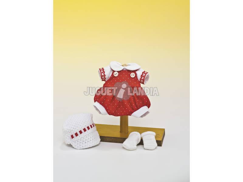 Mini Fatinho Vermelho e Chapéu Ponto Branco