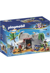 Caverna do Pirata Playmobil