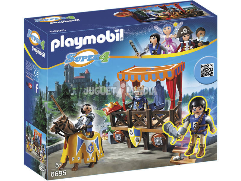Playmobil Tribuno Real con Alex 6695