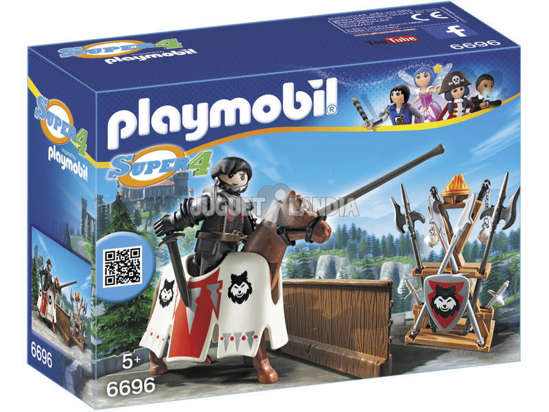 Playmobil Rypan Guardian del Baron Negro