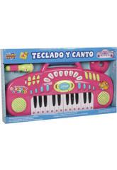 Organo Rosa con Altavoz y Micro