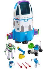 Toy Story 4 Buzz Lightyear Vaisseau Spatial Mattel GJB37