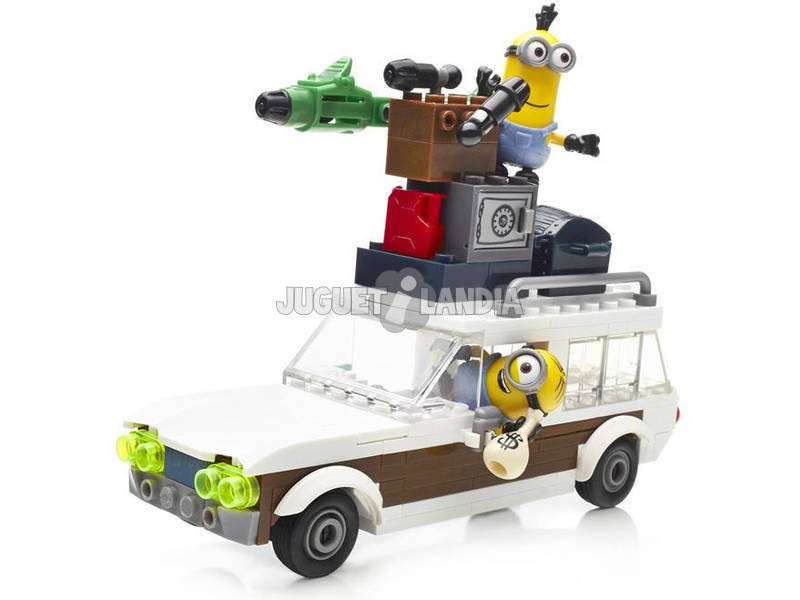 acheter mega bloks minions fuite en voiture volante juguetilandia. Black Bedroom Furniture Sets. Home Design Ideas