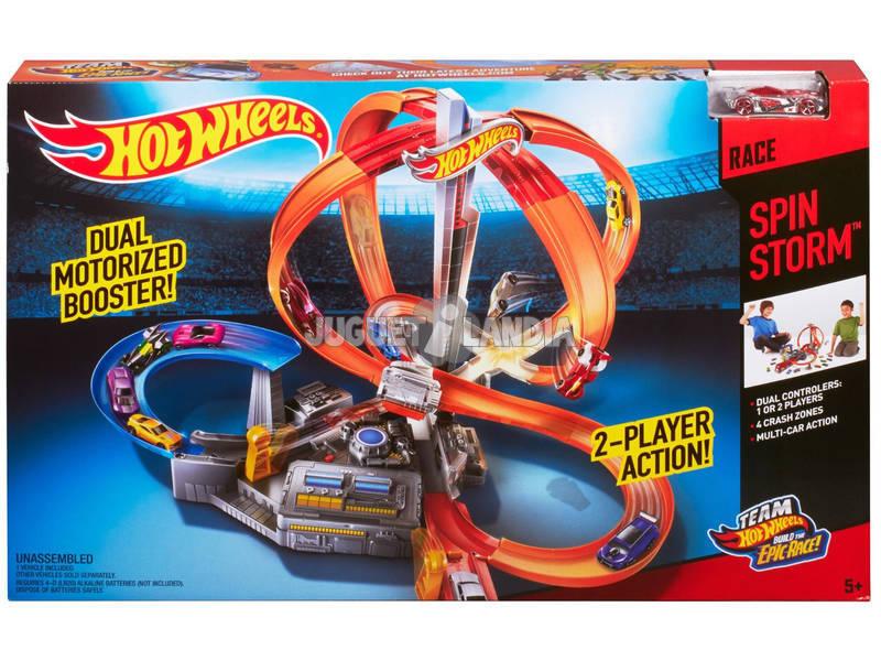 Hot Wheels Pista Torbellino de Carreras