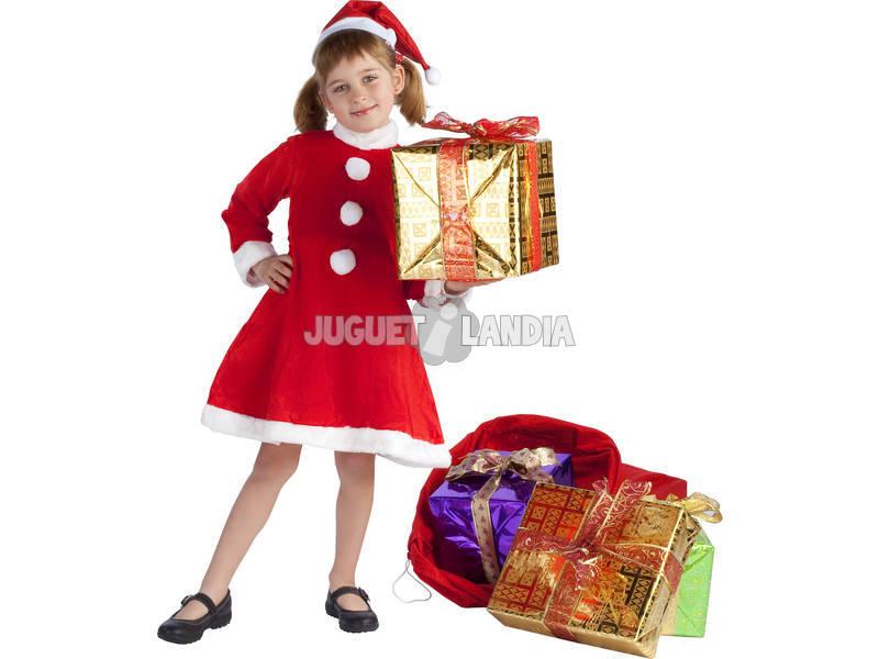 Disfraz niña Mama Noel T-M