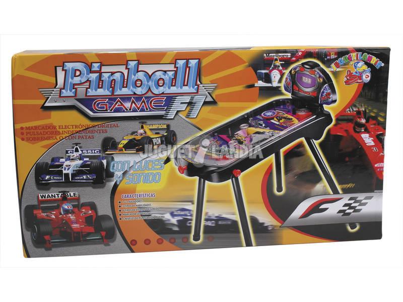 Pinball 72 cm. Electronico carreras con patas