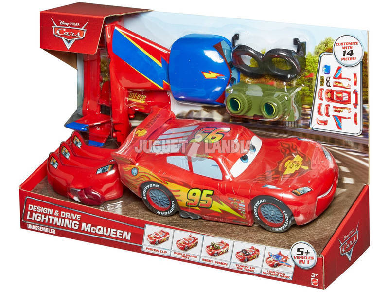 Cars Rayo McQueen Supertuning