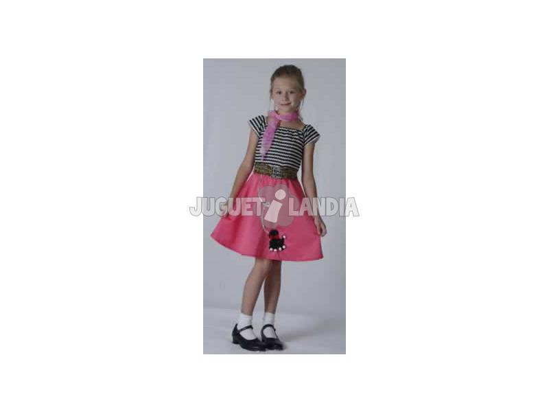 Disfraz Chica Años 50 Niña Talla L