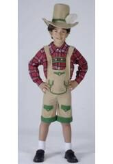 Disfraz Chico de los Alpes Niño Talla S