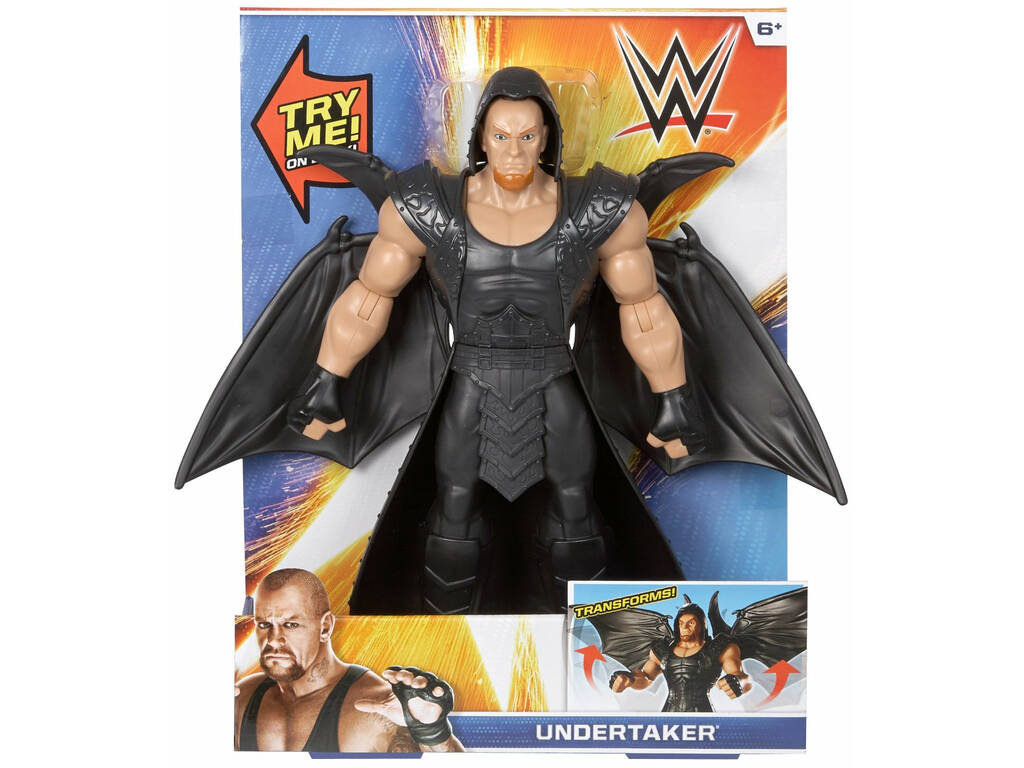 WWE Figura Grande Deluxe Mattel GCY55